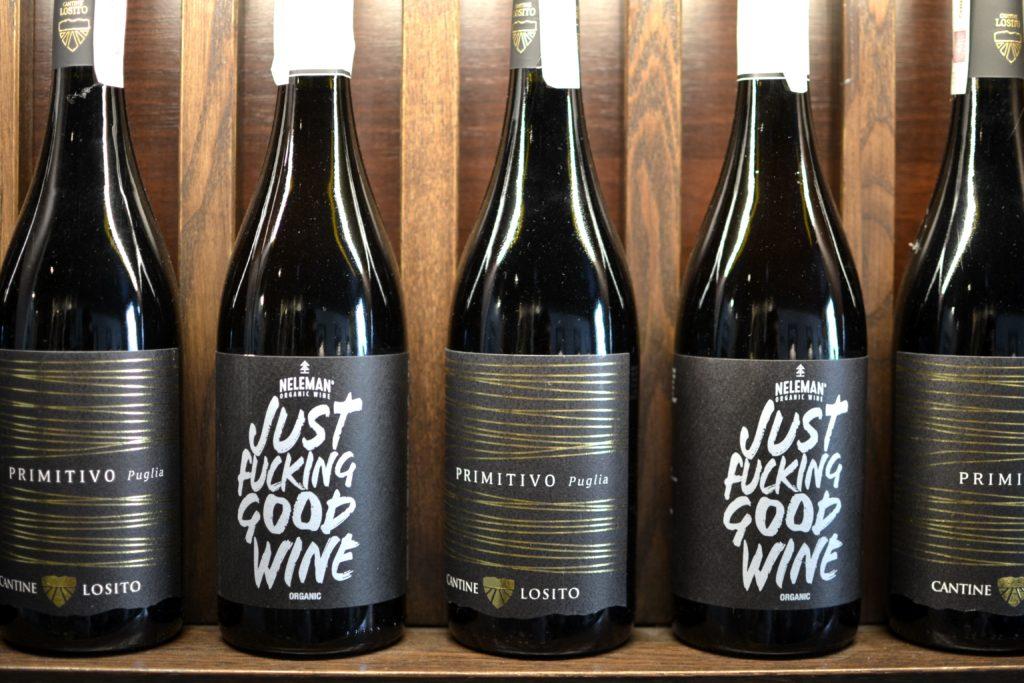 wegańskie wino