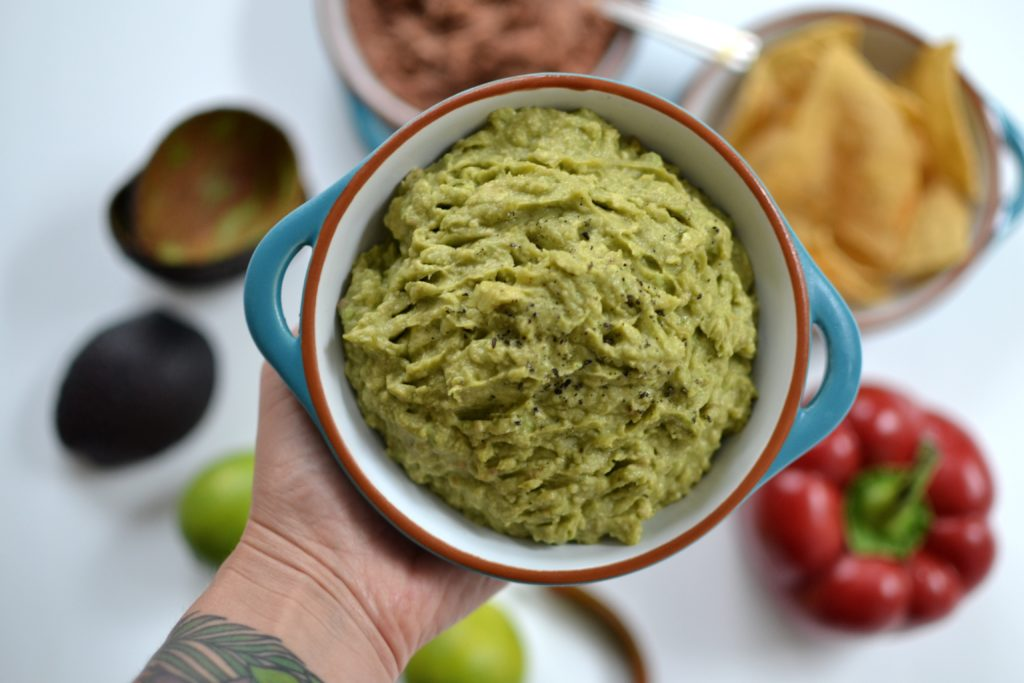pasta guacamole