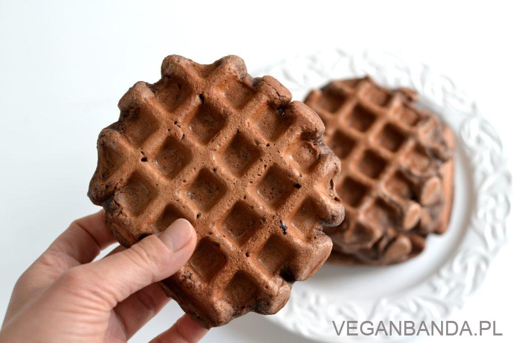 czekoladowe gofry