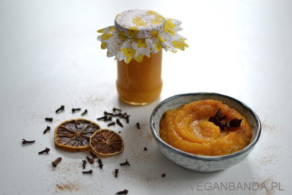 Piernikowy dżem z dyni i pomarańczy